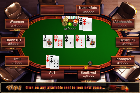 Screenshot Mega Poker Online Texas Holdem (200K Edition)